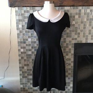 Sunny Girl ModCloth Peter Pan Collar Mini Dress S